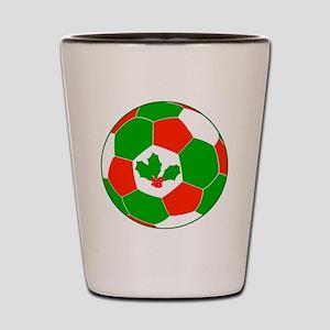 Soccer Christmas Decoration Shot Glass