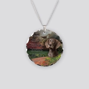 godmadedogs(button) Necklace Circle Charm