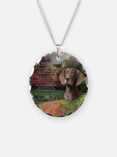 godmadedogs(button) Necklace