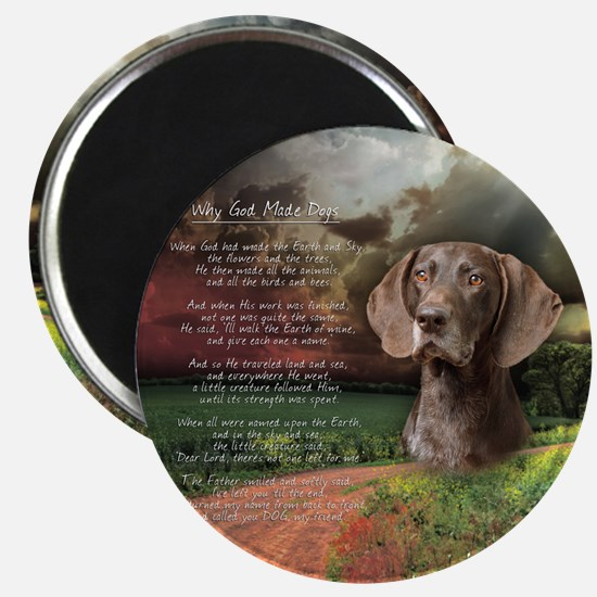 godmadedogs(button) Magnet