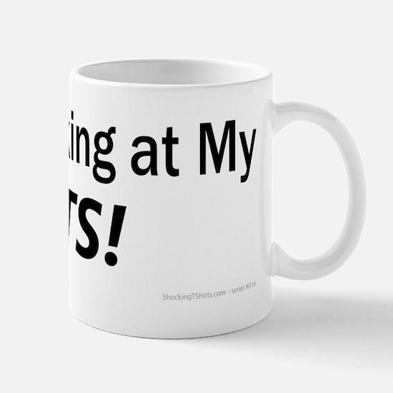 Stop-Looking-Tits_black-Type Mug