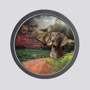 godmadedogs(button) Wall Clock
