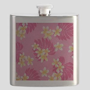 yellowpinkplumipadsleeve Flask