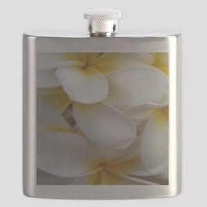 yellowplumeriaipadsleeve Flask