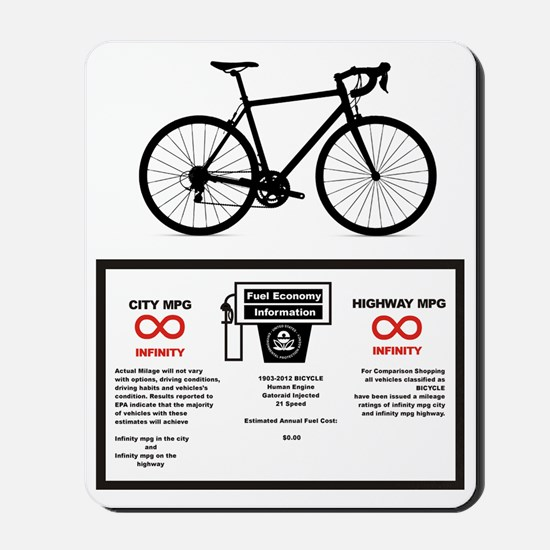 Bike MPG Mousepad