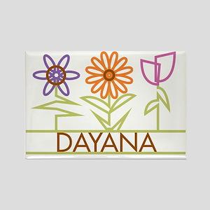 DAYANA-cute-flowers Rectangle Magnet