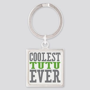 Coolest Tutu Square Keychain