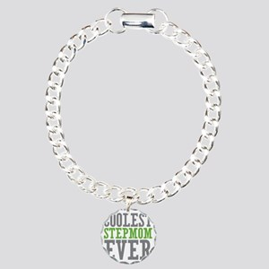 Coolest Stepmom Charm Bracelet, One Charm