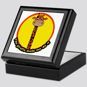 giraffemademedoit Keepsake Box