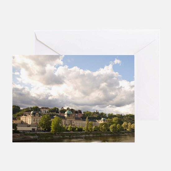 Historical Center of Prague-UNESCO W Greeting Card