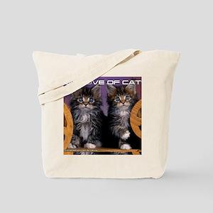 Cover Cat Tote Bag