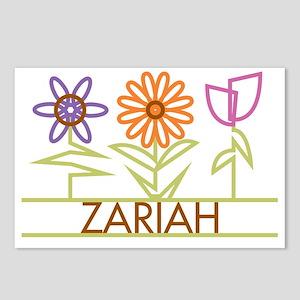 ZARIAH-cute-flowers Postcards (Package of 8)