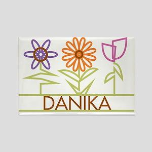 DANIKA-cute-flowers Rectangle Magnet