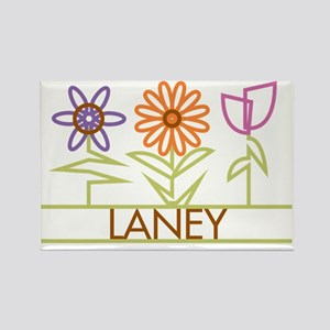 LANEY-cute-flowers Rectangle Magnet