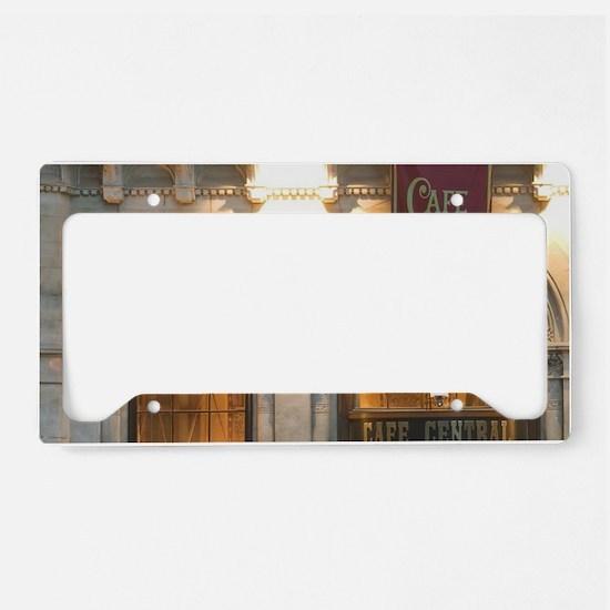 AUSTRIA, Vienna: Cafe Central License Plate Holder