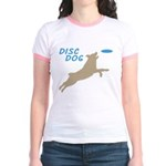 Disc Dog (3) Jr. Ringer T-Shirt