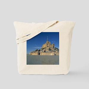 Mont St Michel, Manche, Normandy, France Tote Bag