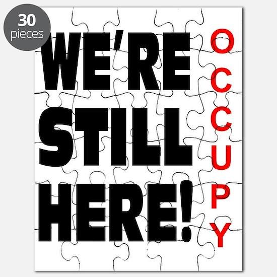 were still here occupy Puzzle