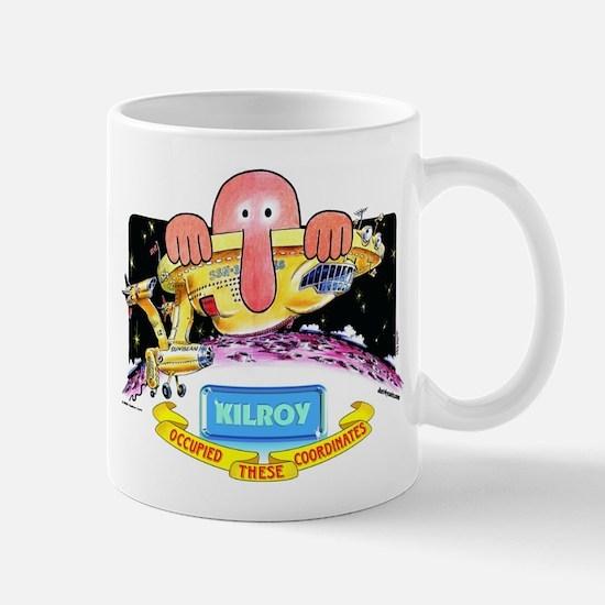 Kilroy Occupied Mug