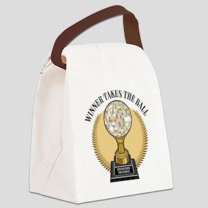 TakesTheBall Canvas Lunch Bag