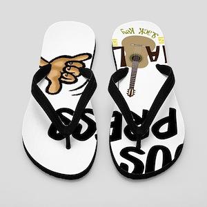 jus_press_cafe_10x10 Flip Flops