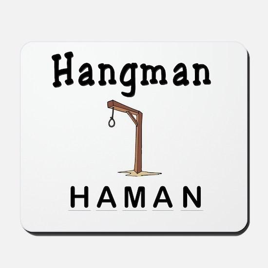 Hangman Haman Mousepad