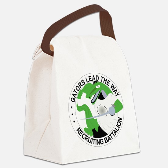 DUI - Tampa Recruiting Battalion Canvas Lunch Bag