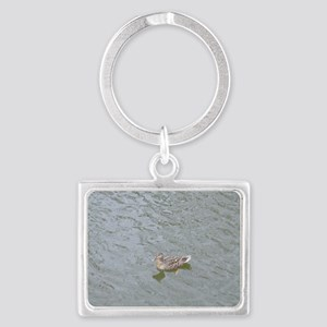 Just Ducky! Landscape Keychain