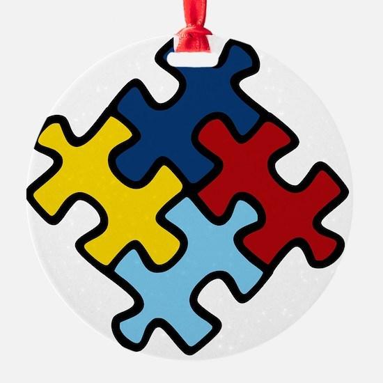 Autism Puzzle Ornament