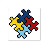 Autism awareness Square
