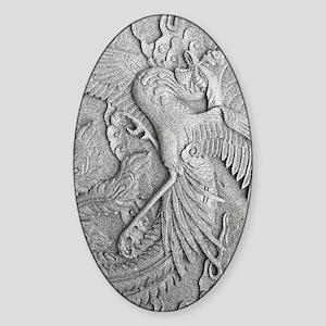 phoenixkindlesleeve Sticker (Oval)