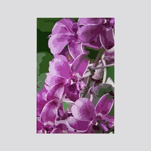 purpleorchidsmodkindlesleeve Rectangle Magnet