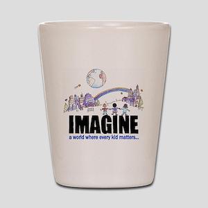 Imagine reframed Shot Glass
