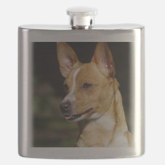 Portuguese Podengo AA020D-041 Flask