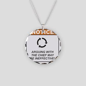 Chief_Notice_Argue_RK2011 Necklace Circle Charm