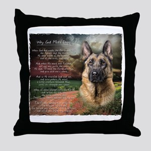 godmadedogs Throw Pillow