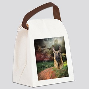 godmadedogs(button) Canvas Lunch Bag