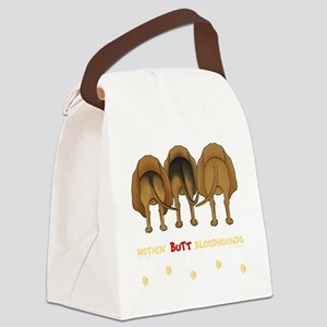 BloodhoundTransNew Canvas Lunch Bag