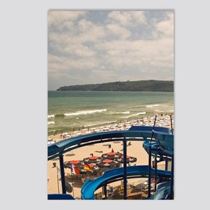 Main Beach near Central V Postcards (Package of 8)