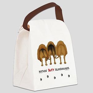 BloodhoundButtsNew Canvas Lunch Bag