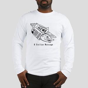Sicilian Message - outside Long Sleeve T-Shirt