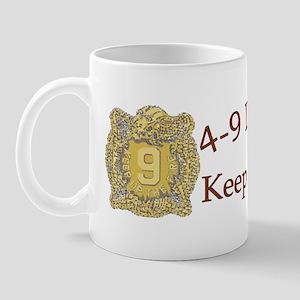 4th Bn 9th Infantry cap1 Mug