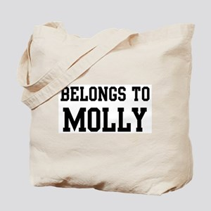 Belongs to Molly Tote Bag