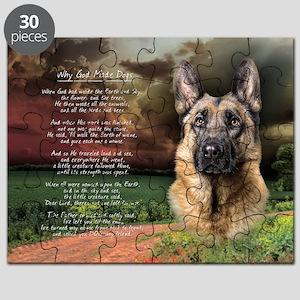 godmadedogs(oval) Puzzle