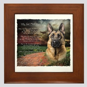 godmadedogs2 Framed Tile
