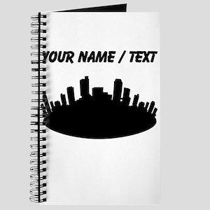 Custom City Skyline Journal