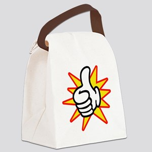 Thumbs Up Canvas Lunch Bag