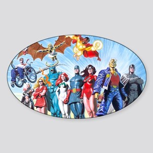 MansionComicsGroup Sticker (Oval)