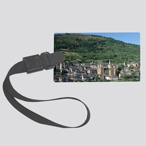 Scenic view of Benedictine Abbey Large Luggage Tag