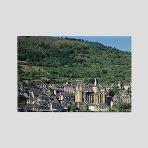 Scenic view of Benedictine Abbey  Rectangle Magnet